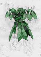 Agave- Heavy Armor type 5-3-10 by sledgeviper