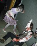 Little Sister and Splicer. by UndercoverEnvy