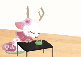 - Tea time - (WIP) by Cushies