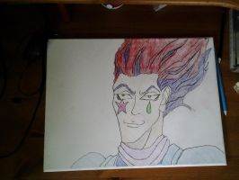 Hunter x Hunter: Hisoka Fanart by AxelRaptr