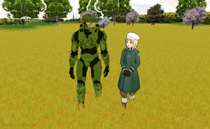 Walking with the Master Chief by Shinigami-Spartan