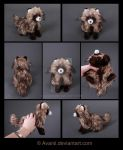 Plushie Commission: Raccoon Dog by Avanii