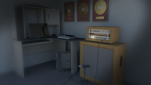 Desk Render by Natewich4lunch