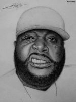 Portrait de Rick Ross by Dikiys