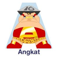ABCDraw: A is for Angkat by adifitri
