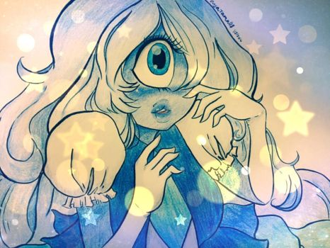 Sapphire sparkles by booplebuns