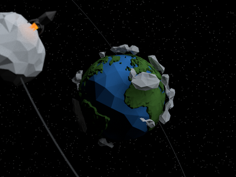 Quick earth in Low Poly by tokfrans