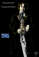 The Eighth Doctor - colour by The-13th-Doctor