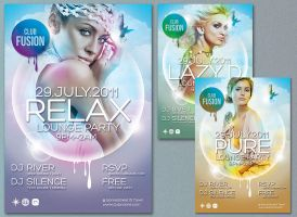 Free Poster,  Flyer PSD by RedEffect7