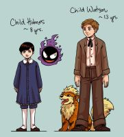 SH+PKMN - children by FerioWind