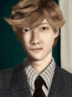 Kevin Woo Portrait by Airadelle