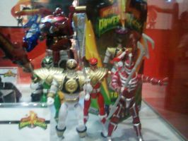 Brand new Mighty Morphin Power Rangers figures by DoctorWhoOne