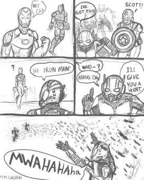 Ant Man Needs no Help by CaptEncore
