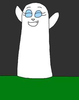 Poodleiaster's Silly Ghostly Costume by Ilovefallingcows25