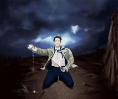 Castiel: All that Power by hedgehogfairy