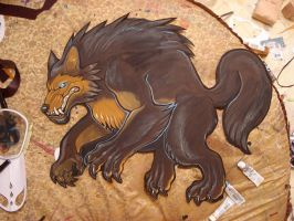 Solid Asp wood cut out by missmonster