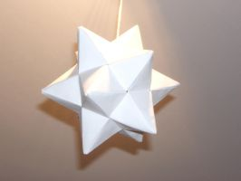 Lesser Stellated Dodecahedron by SkyWookiee