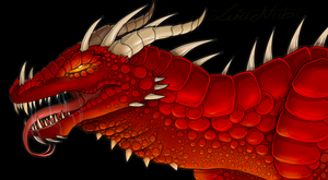 Smaug by Lucieniibi