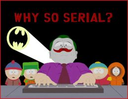 South Park vs The Dark Knight by Hyndman