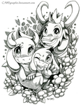 ~Undertale: Dreemurr Family~ by CNWgraphis