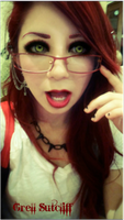 Grell sutcliff improvised cosplay by Caiyro