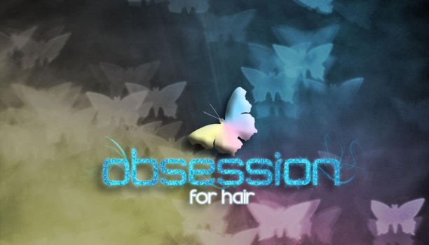 Obsession For Hair Business Card by Drknz