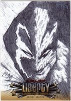 Spawn and Haunt sketch card by DrawJinDraw-jinhan
