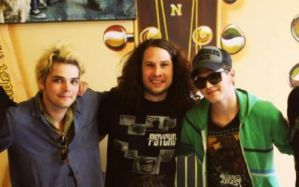 A new pic of the boys! by The-MCR-Fan-Club