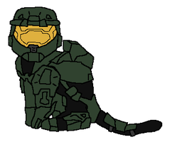 Spartan Kitty by DragonPud