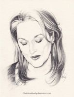 Meryl Streep by ChristinaMandy