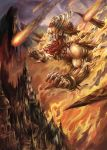 Red burn Giant 2 by SARYTH