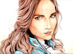 The Iron Underneath : Lyanna Stark by CMBaggs