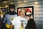 Batman, Jim Cummings and Catwoman by ChristineFrollophile