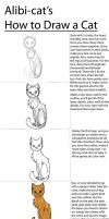 How To Draw a Cat by Alibi-cat