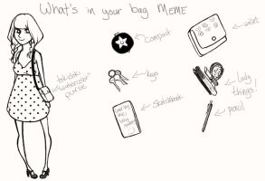 What's in your bag MEME by necromorphs
