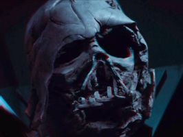 Vader Mask 3-D conversion by MVRamsey