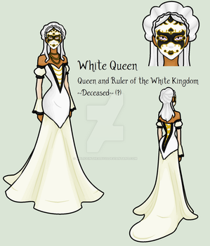 Down The Rabbit Hole - White Queen by MaliceInTheAbyss