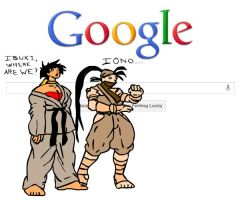 Ibuki and Makoto search Google by jqzjqz