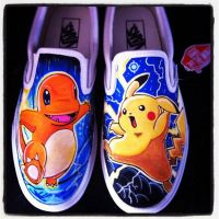 Pokemon Vans 2 by VeryBadThing