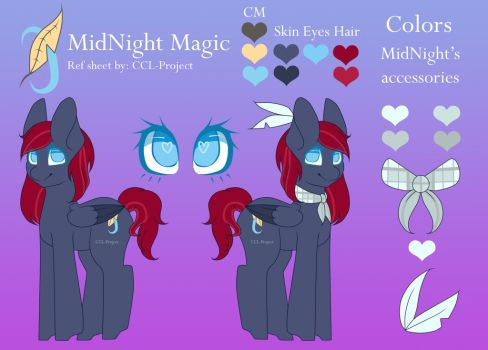 MidNight Magic Reference sheet by CCL-Project