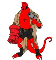 Archie Hellboy by JTF3