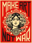 Make Art Not War by whereYOUendd