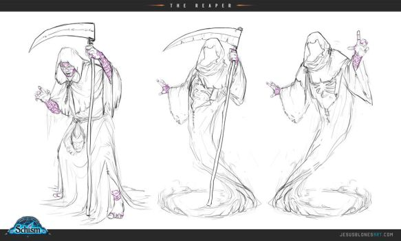 The reaper - Sketches - Schism by ChuchuaN