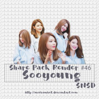 [Pack Render #46] Sooyoung (SNSD) by michamhet