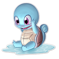 #007 Squirtle by feh-rodrigues