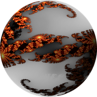 Orb of the Julia fractal by Magix39