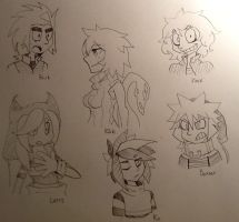 Some oc's by UnknownSpy