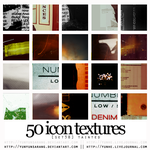 50 icon textures - tainted by yunyunsarang