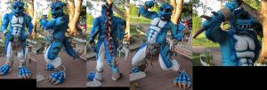 Dungeons and Dragons Lizardman Costume by ArtSlavefursuits
