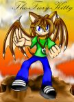 .:Request:. Sonic Style Angus by Blaze-Fiery-Kitty